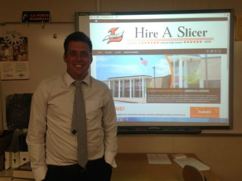 LaPorte High School teacher launches new web site