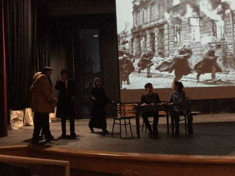 WWII and Holocaust students attend play put on by Valpo University