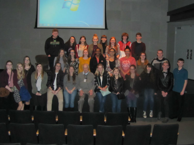 WWII and Holocaust class travels to Skokie Holocaust Museum