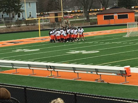 Home opener for Lacrosse