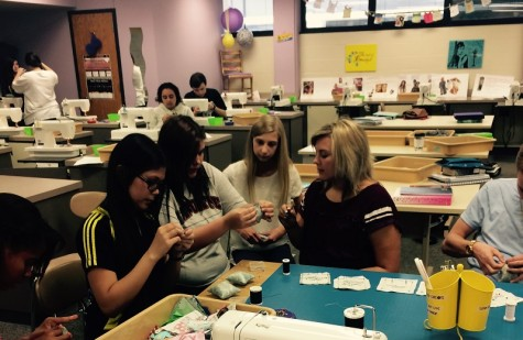 LPHS overview: Sewing class