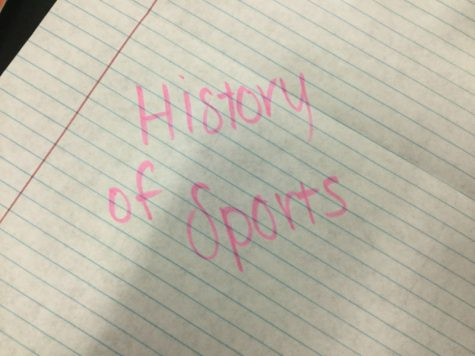 The History of Sports