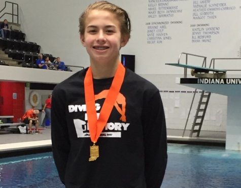 Diving into success at State