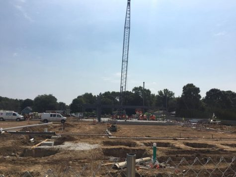 New Handley construction underway