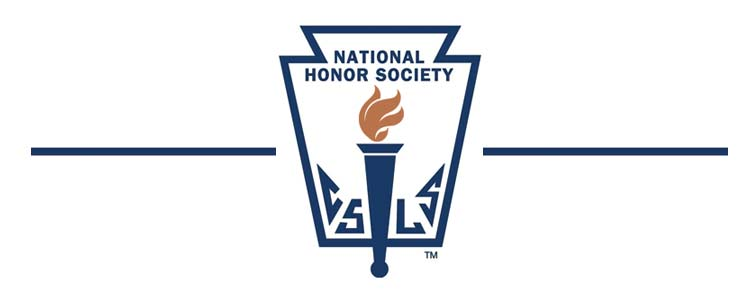 National Honor Society's new officers
