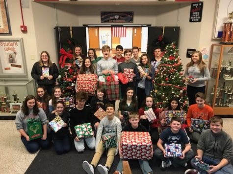 BMS spreads holiday cheer