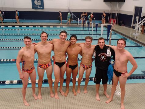 Swimming to Sectionals