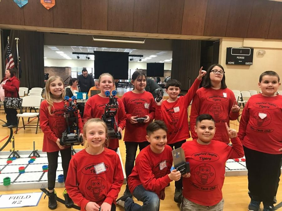 Kingsford Heights Robotics team qualifies for State