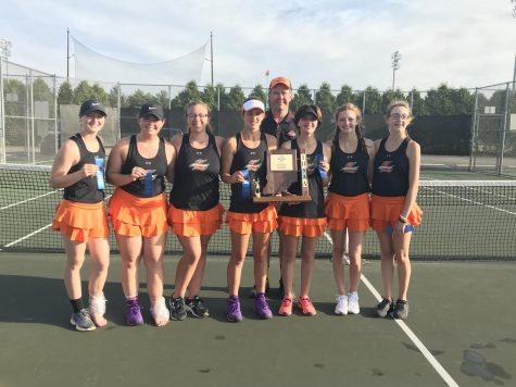 Girls tennis wins Sectionals
