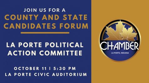 La Porte Political Action Committee (LPAC) to Host Candidates Forum on Oct. 11