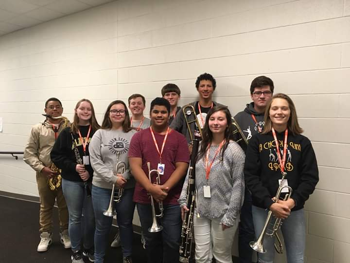 LPHS band students perform in honor bands