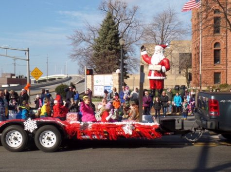 K-Kids, santa parade, and community
