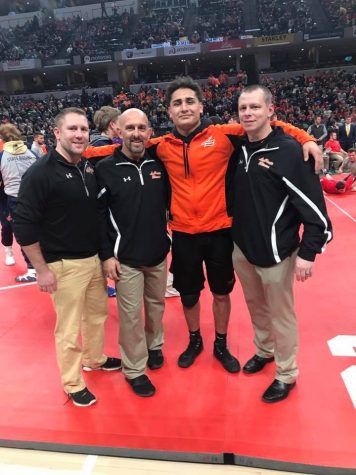Perez wrestles his way to State