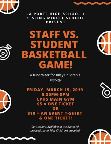 LPHS will be hosting staff vs student game