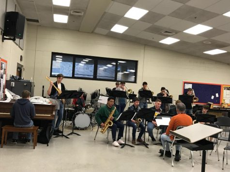 La Porte bands compete at ISSMA District Jazz competition