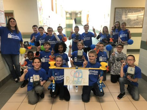 Crichfield Robotics competes at State