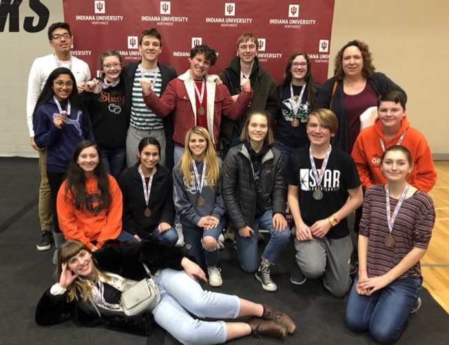 Science Olympiad team advances to State
