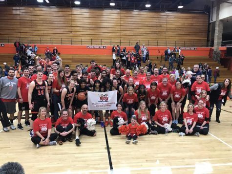 LPHS hosts Student vs. Staff game