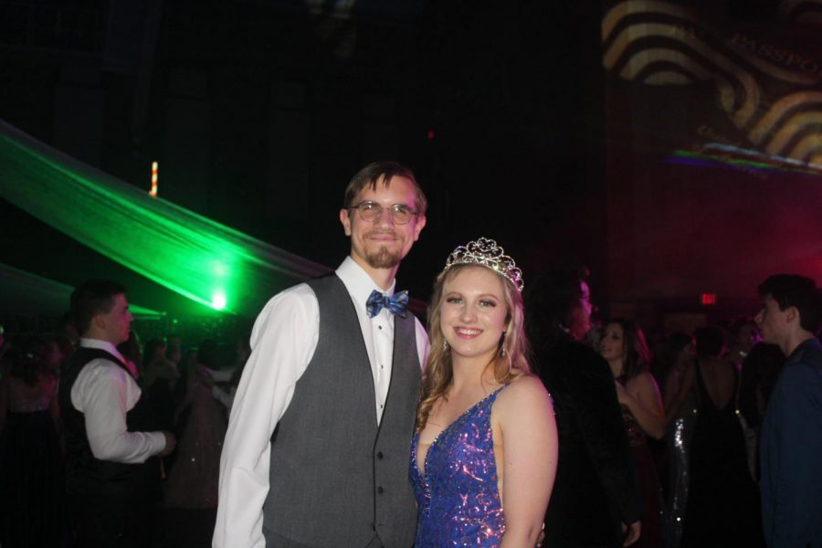Cloutier crowned queen