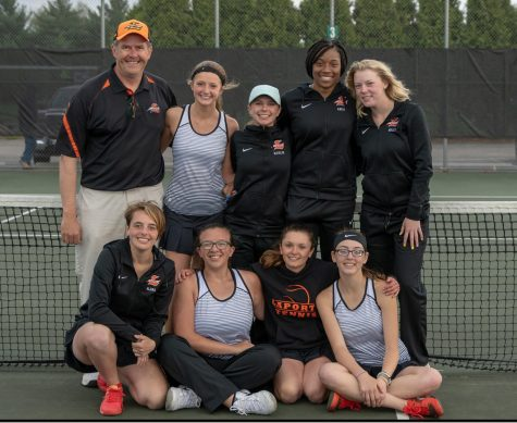 Girls tennis serves up a record season