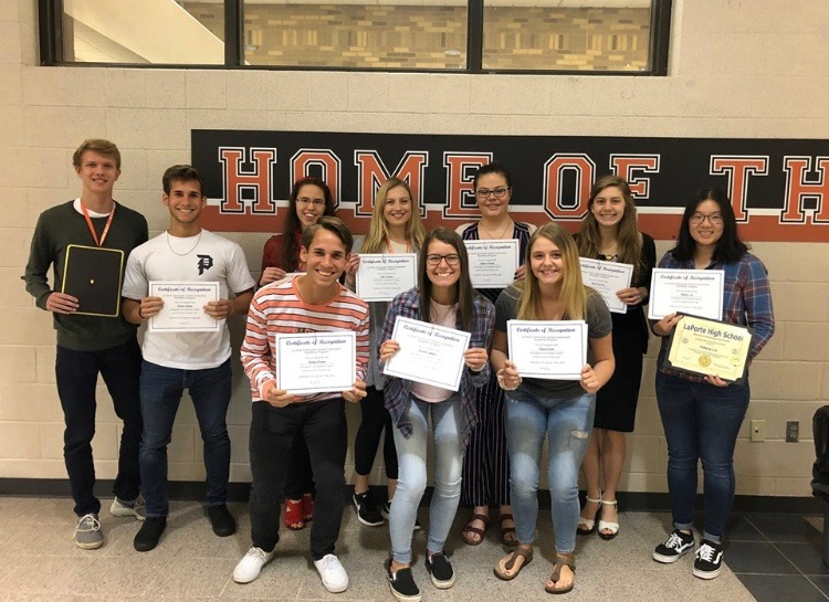 LPHS students receive Work Ethic Certificate