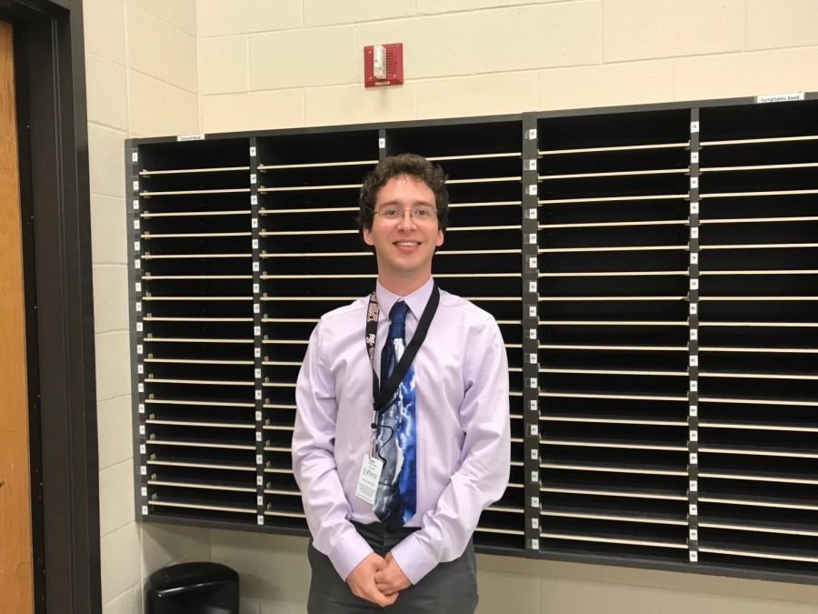 LPHS welcomes new band director