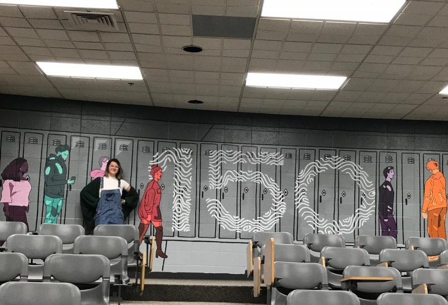 Jobbe fills the walls of LPHS with creativity