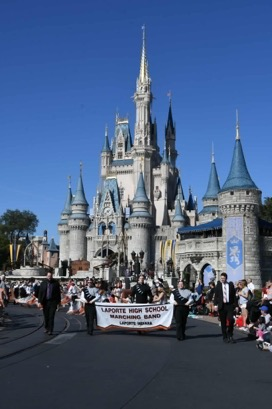 LPMB marches at Disney