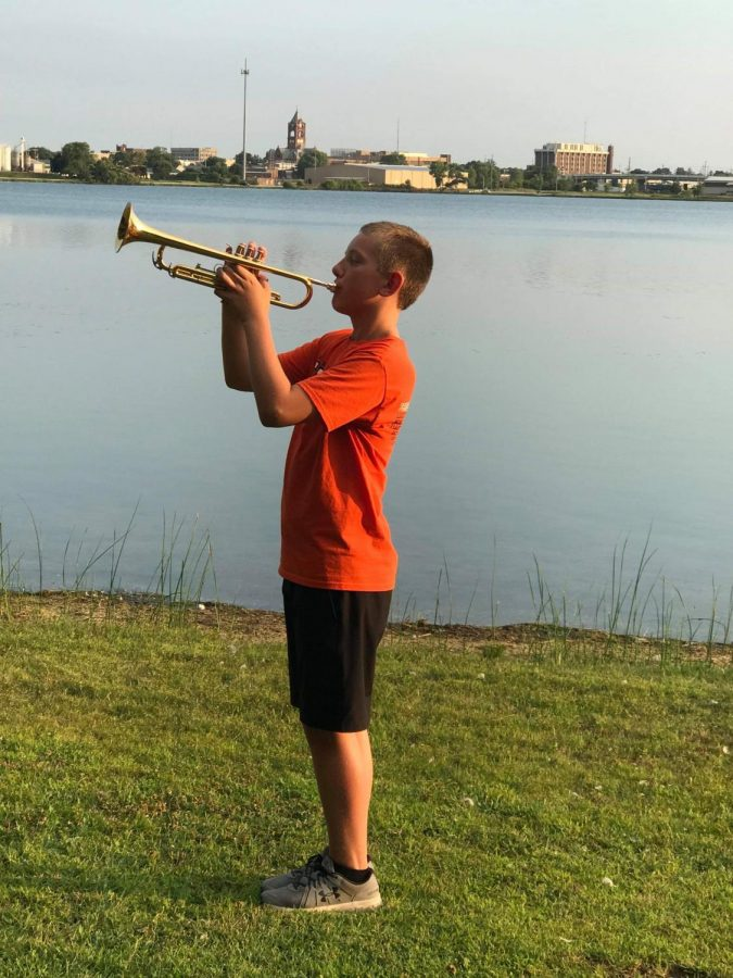 Kabacinski earns All-State Honor Band spot