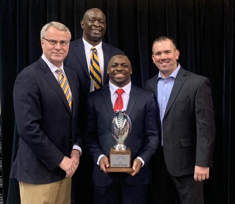 Salary wins NAIA Player of the Year