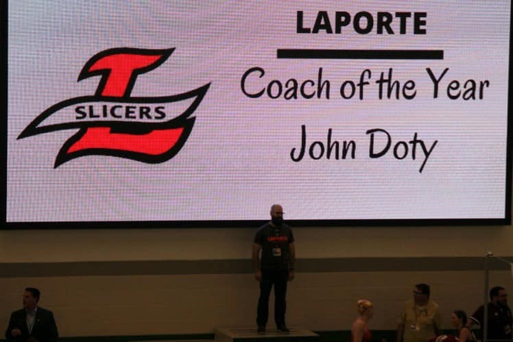 Doty wins Coach of the Year