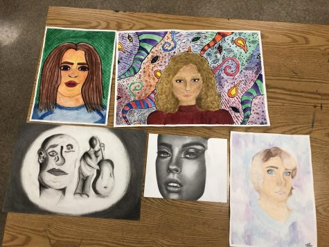 Advanced 2-D Art helps students blossom as artists