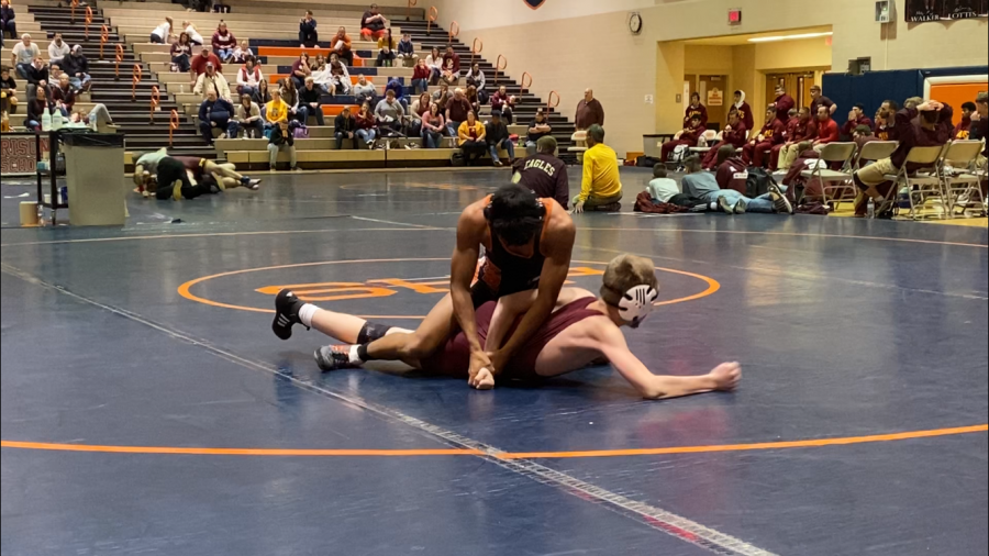 Mitchell wrestles to success