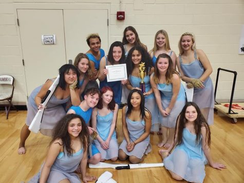 LPHS Winter Guard steals the show in Schaumburg