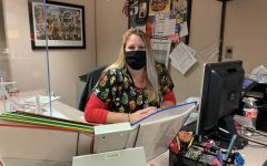Cooper manages nurse's office during pandemic