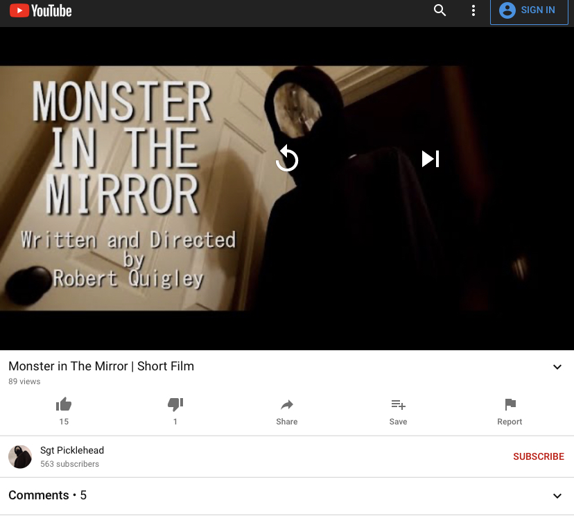 Kring Ding: Monster in the Mirror