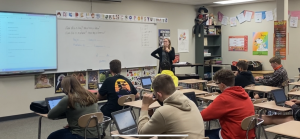 Anglin subs her way into teaching