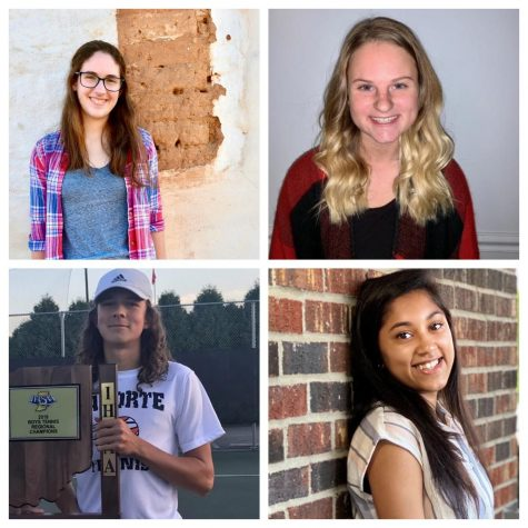 Four finalists for Lilly Scholarship