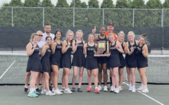 Navigation to Story: LaPorte girls tennis volleys for a successful season